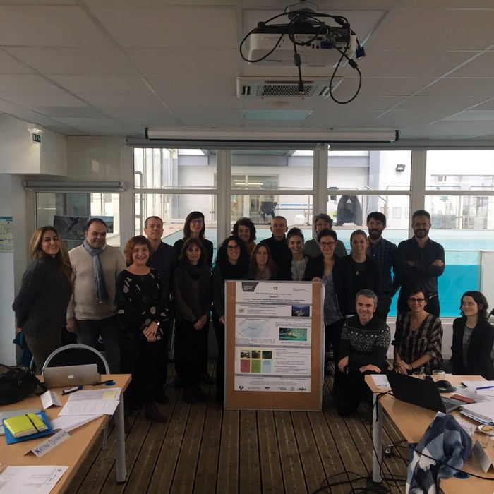 1st Workshop of  Oceansi3 Innovation International Team