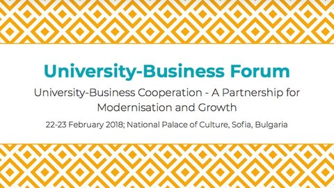 University Business Forum  2018 Sofia, BULGARIA - Igor Campillo