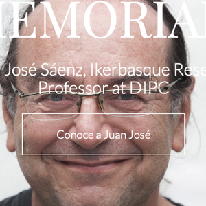 In Memoriam Juan José Sáenz, Ikerbasque Researcher, Professor at DIPC