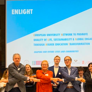 The ENLIGHT Network, in which the UPV / EHU and the University of Bordeaux participate, has been recognized as a European University.