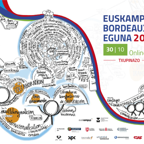 Euskampus Bordeaux Eguna 2020 online - Thank you message and much more
