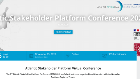 Atlantic Stakeholder Platform Conference 2020